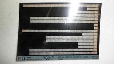 Fiat Factory#12-B 1969 124 AC/AS Coupe&Spider Body/Trim/Paint MircoFiche Catalog