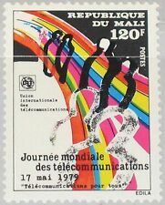 MALI 1979 697 326 11th Telecommunication Day Weltfernmeldetag People Leute MNH