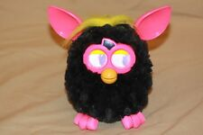 Furby Boom 2012 Black Body~PINK Ears And Feet~Yellow Hair Interactive Hasbro