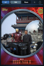 Topps Marvel Collect DIGITAL IRON MAN 3 BEHIND THE SCENES - ID #4646 164CC