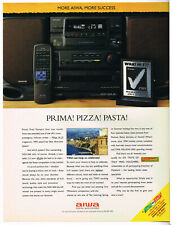 Aiwa Ad NSX-360 All In One System Winner 1993 Magazine Advert QE169