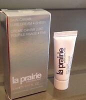 La Prairie Skin Caviar Luxe Cream SHEER Travel Size 0.17 oz/5ml New in box