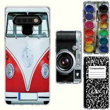 LG Stylo 6 / 6 Plus(Clear) ShockProof TPU Bumper Skin Phone Case Cover-H
