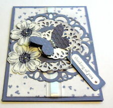 STAMPIN UP Sizzlits Large Paper Doily Die~Lace~NEW