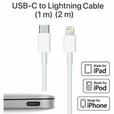 2M USB-C 3.1 Type C Male to Lightning Fast data Charge Cable iPhone MacBook iPAD