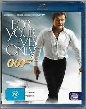 For Your Eyes Only Blu-Ray (2012)New (Roger Moore) Region B Free Post