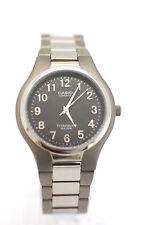 CASIO Midsize Titanium Bracelet Grey Dial Analog LIN-162-8 50M Water Resistance