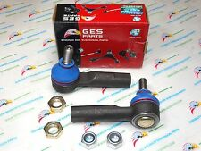 Grease Fitting Premium Quality 2 New Steering Outer Tie Rod Ends ES3438