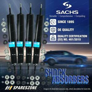 Front + Rear Sachs Shock Absorbers for Nissan Patrol G60 4WD Ute 1961-1979