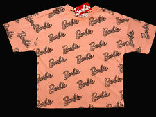 BARBIE OFFICIAL PINK COTTON OVERSIZED T-SHIRT LOUNGE WEAR LADIES BNWT PRIMARK