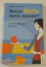 Welche Marke steckt dahinter Martina Schneider No name Produkte Buch | gebraucht