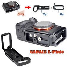 Gabale L Plate Bracket Camera Grip Kamera Halterung für Sony A 7 RIII a9 lce-7rm3 Bus