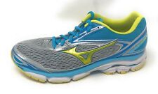 Mizuno Women's Wave Inspire 13 Shoe High-Rise/Bolt/Blue Atoll 9.5, Used