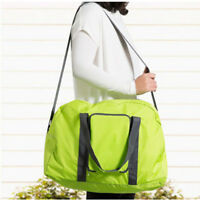 Green Youth Girls Packable Foldable Traveling Duffle Bag Sports Gym Luggage