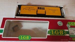 LGB 3084 DENVER & RIO GRANDE BAGGAGE CAR  WITH BOX