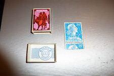 Vintage Zündholzspiel Rar 70er J Postmark Puzzle Jigsaw Bugle Boy Matchbox Games