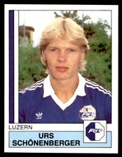 Panini Football 88 (Swiss) Urs Schonenberger Luzern No. 105