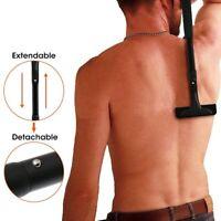 Back Hair Removal Men Body Groomer Kit Tool Best Shaver Razor Blades Waterproof