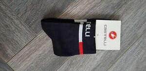 New Long Black Cycling Socks Size 7-13