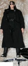 BIG ACTION FIGURES KEANU REEVES DOLL FILM MATRIX MOVIE-AGENT NEO + DVD ANIMATRIX