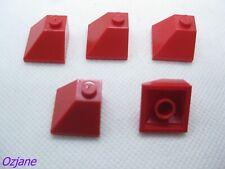 Lego 2x Slope Pente 45 2x2 Double Concave 3046 Bleu//Blue//Blau