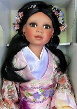 "MASAKO Porcelain Doll 27""T by Denise McMillan RETIRED LE COA NEW MINT N BOX"