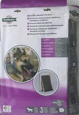 PetSafe Extreme Weather Pet Door Flap, Large - Easy Install & Weather Proof