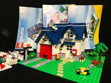 Lego 5891 Creator Apple Tree House Haus mit Garage complete Stadt City Town