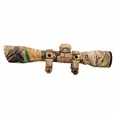 Truglo Compact Shotgun Scope Sr 4x32 w/Rings Diam Camo TG8504CD