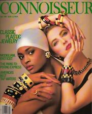 Connoisseur Magazine Bakelite Cover & Article 1985