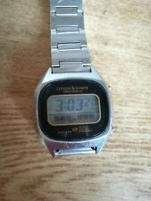 CITIZEN  WATCH CO. BASE METAL TOP STANLESS ETELL BACK 501352 GN-4-S japan
