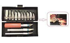 New Utility Multifunction Precision Hobby Knife Stencil Scribing Razor Set 13pcs