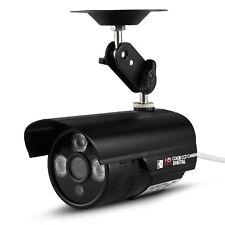 CCTV Surveillance Camera PAL IR LEDs Day & Night Vision 6mm HD Lens 40m Outdoor