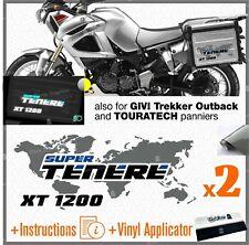2x Adesivi Grigio Nero Blu compatibile con Yamaha XT 1200 Tenere Z R X