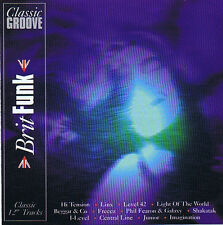 Classic Grooves Brit Funk CD ( 12 Track ) 1996