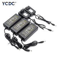 100-240V AC to DC Power Supply Charger Transformer Adapter 5V 12V 24V 1-8A F085