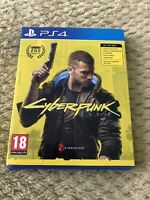 Cyberpunk 2077 - PS4 - complete, in great condition