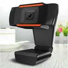 Webcam HD Kamera Laptop Desktop Mit Mikrofon für Videoanrufe PC USB 2.0 3.0