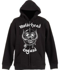 Motorhead 'England' Zip Up Hoodie - NEW & OFFICIAL!