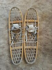 New listing Vintage Snowshoes by Vermont Tubbs, 10x36-Se, Great to use or display!
