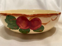 "FRANCISCAN APPLE made in USA ROUND VEGETABLE SERVING BOWL 8 3/8"" VINTAGE"