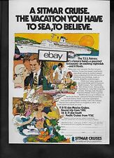 SITMAR CRUISES TO MEXICO 1972 T.S.S. FAIRSEA VACATION SEA TO BELEIVE AD