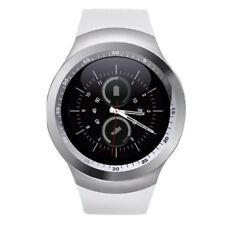 Y1 Premium SmartWatch Uhr WEISS Bluetooth Samsung iPhone Android SIM Handy WEIß