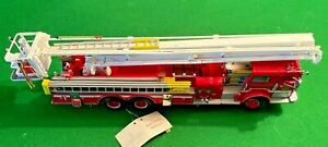 Franklin Mint 1/32 Scale Model Truck - Pierce Snorkel Fire Engine **RARE**