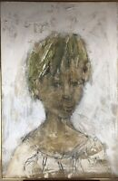 LARGE Original Signed Painting By GINO F. HOLLANDER 24x36