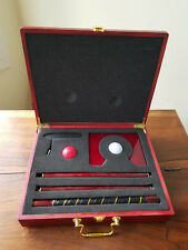 MD/DC Minority Supplier Development Council Portable Golf Set & Cherry Wood Case