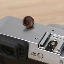 New Solid Wood Soft Shutter Release Button for Fujifilm X100F X100T XPRO2