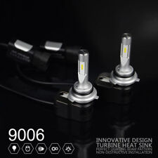 Pair of 9006 LED Low Beam Headlight Bulb Replacement Kit 6000K, Cool White