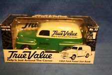 True Value, 1:25 Scale, 1950 Ford Panel Van Bank  1476