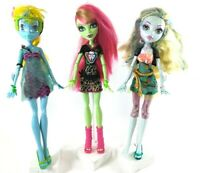 Monster High Doll Lot of 3 Venus McFlytrap Ghoul Spirit Lagoona Blue 13 Wishes